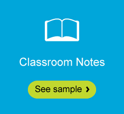 Classroom Notes sample